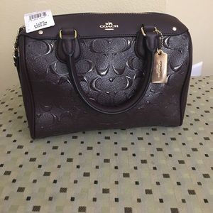 New with tag Coach Bennett Satchel